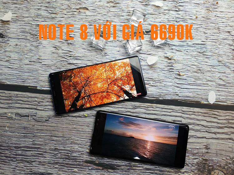 """Mua Samsung Galaxy Note 8 Hàn Quốc 98%giá chỉ 6690k : """"nên hay không """"???"""