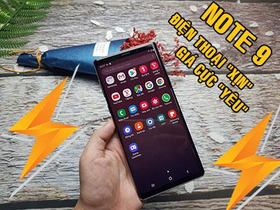 """Samsung Galaxy Note 9 - điện thoại """"xịn"""" giá lại cực """"yêu"""""""