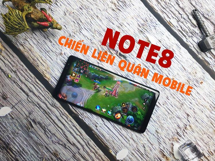 Galaxy Note 8 Mỹ: Chiến Pubg cực đỉnh vậy còn Liên Quân Mobile thì sao?