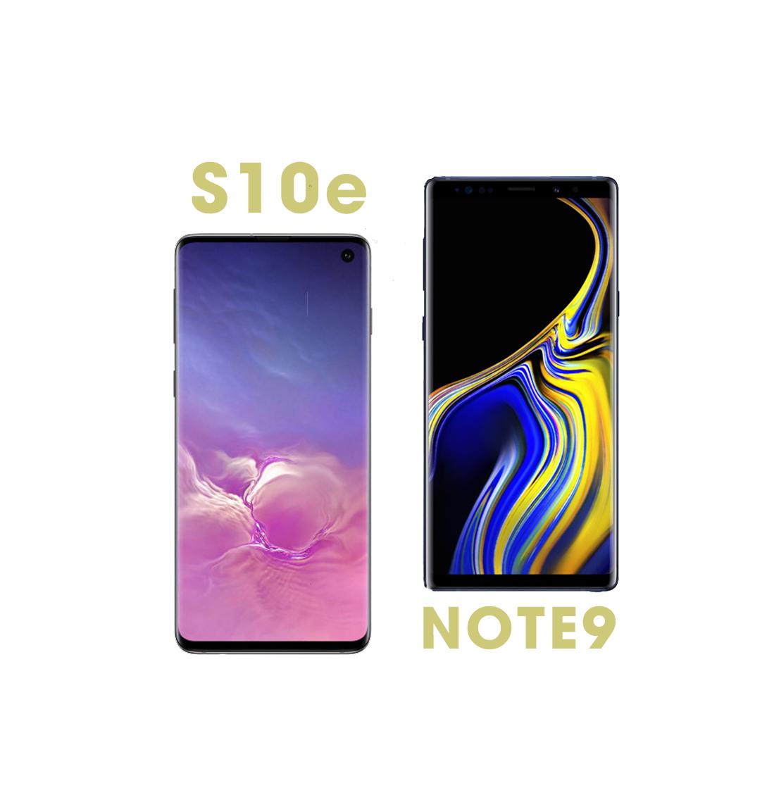 Galaxy S10e và Galaxy Note 9: Hai siêu phẩm cùng tầm giá