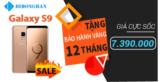 Galaxy S9 chỉ còn 6390K - Giá HOT hơn cái NÓNG của HÀ NỘI