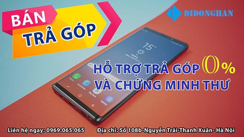 Mua điện thoại xách tay trả góp lãi suất thấp chưa từng thấy tại Hà Nội