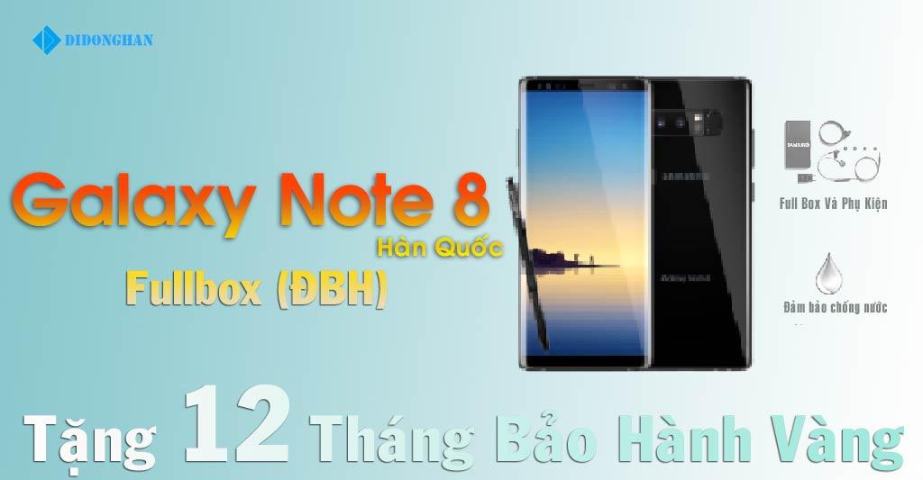Samsung Galaxy Note 8 Hàn Xách Tay Hàn Quốc (Fullbox)