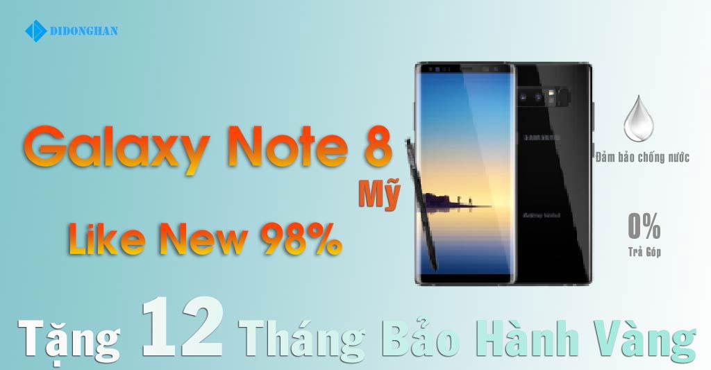 Galaxy Note 8 Xách Tay Mỹ 98%