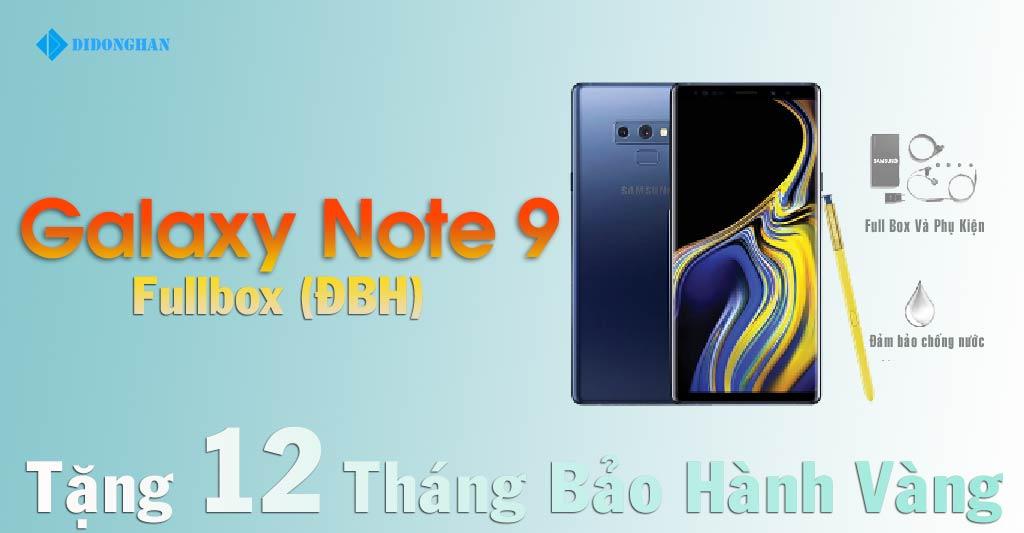 Samsung Galaxy Note 9 Xách Tay Hàn Quốc ( Fullbox)