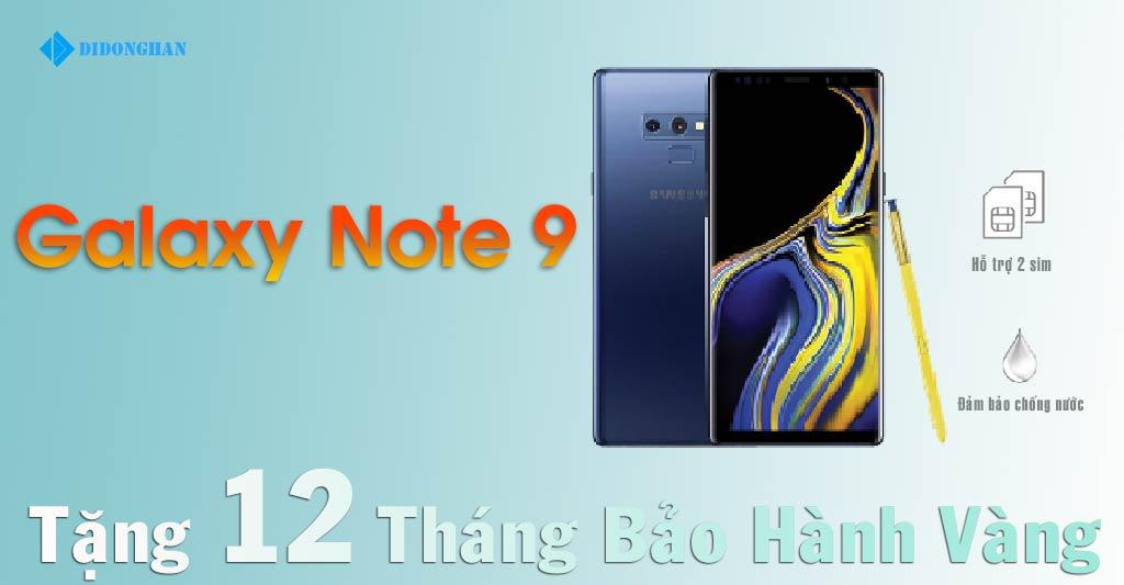 Galaxy Note 9 Xách Tay Hàn Quốc 2 Sim Cũ
