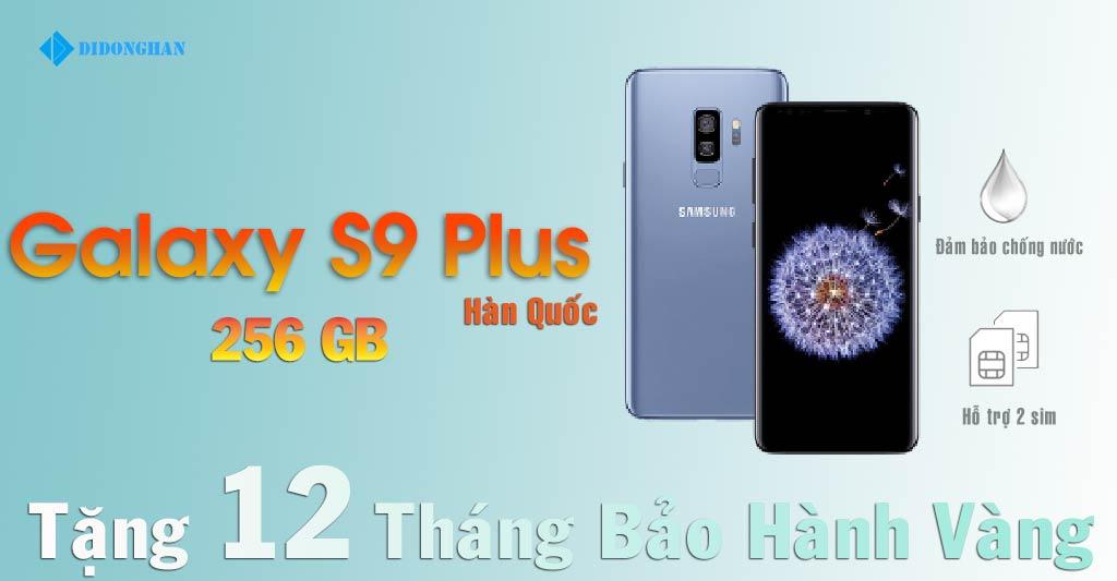 Galaxy S9 Plus Xách Tay Hàn Quốc 256GB