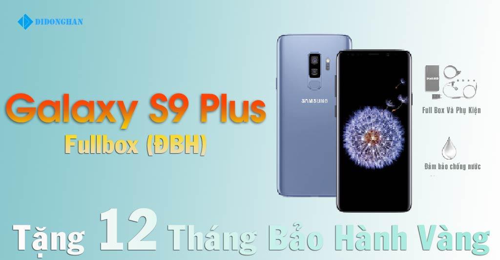 Galaxy S9 Plus Xách Tay Hàn Quốc 98% 256G