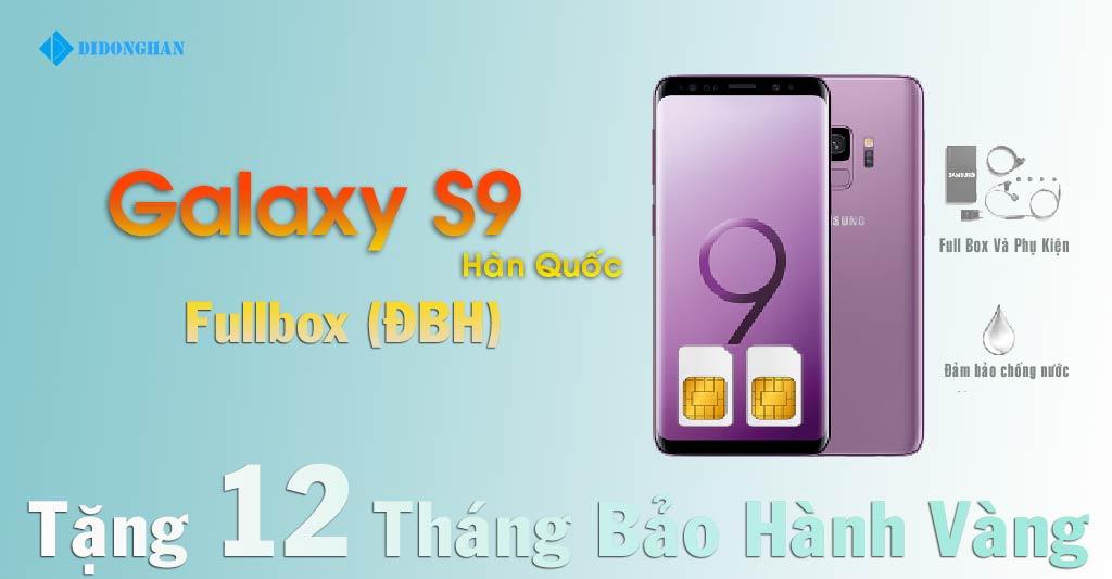 Samsung Galaxy S9 Xách tay Hàn Quốc (Fullbox )