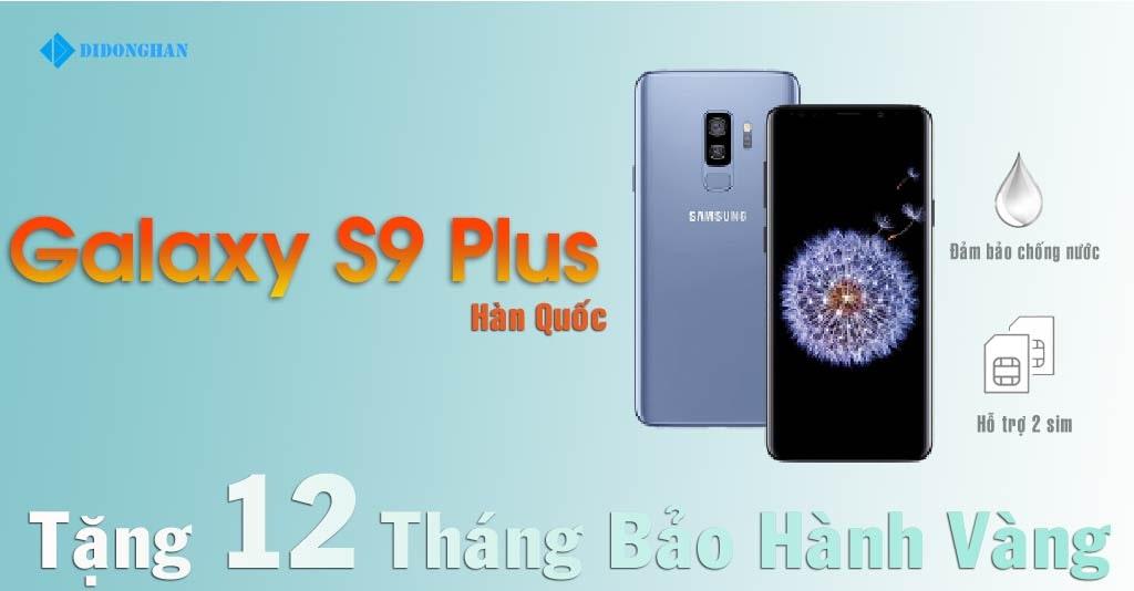 Galaxy S9 Plus Xách Tay Hàn Quốc Cũ