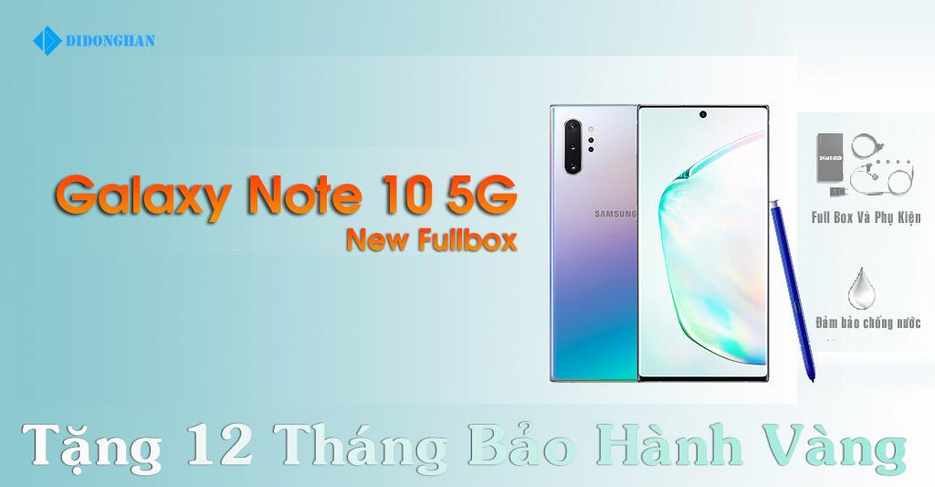 Galaxy Note 10 5G Xách Tay Hàn Quốc New Fullbox