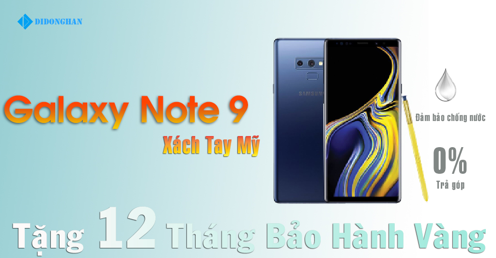 Galaxy Note 9 Xách Tay Mỹ