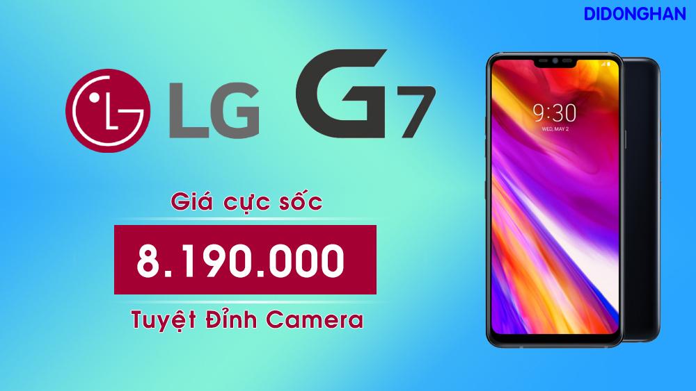 LG G7 Xách tay Hàn Quốc