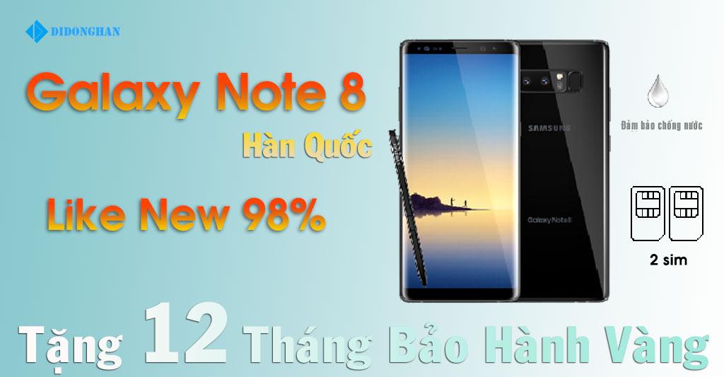Galaxy Note 8 Xách Tay Hàn Quốc 98%