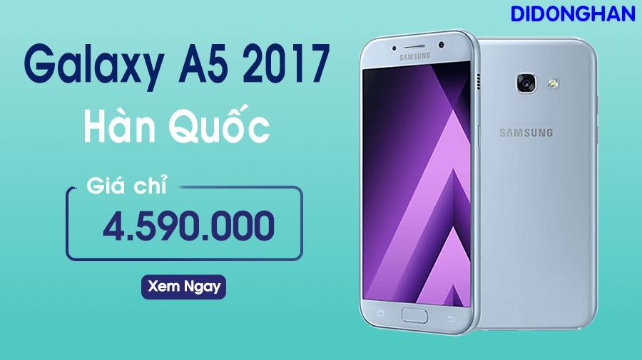 Samsung Galaxy A5 Xách Tay Hàn Quốc ( 2017)