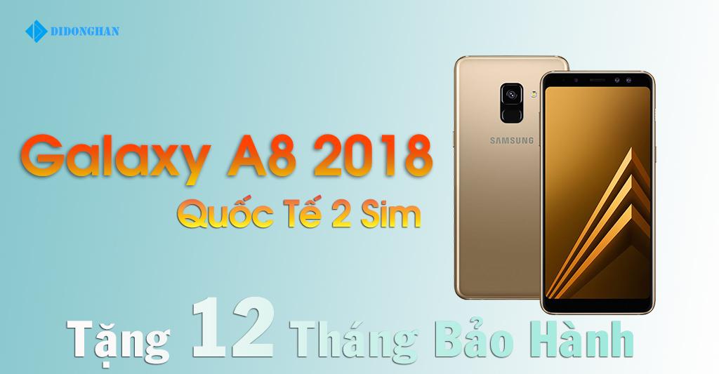Samsung Galaxy A8 Xách Tay Hàn Quốc ( 2018 )