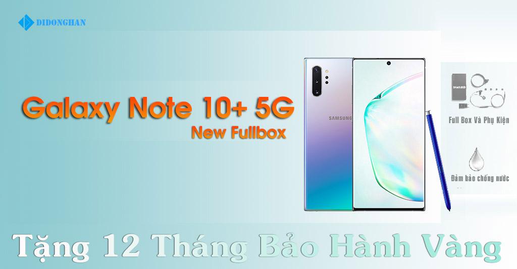 Galaxy Note 10 Plus 5G Xách Tay Hàn Quốc New Fullbox
