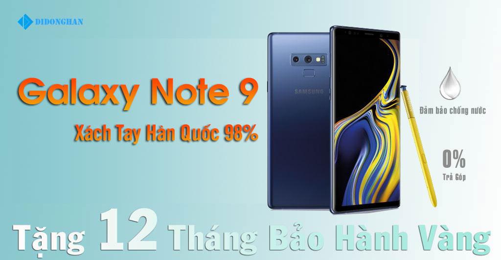 Galaxy Note 9 Xách Tay Hàn Quốc 98%