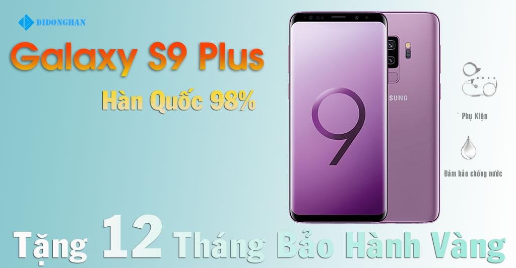 Galaxy S9 Plus Xách Tay Hàn Quốc 98%