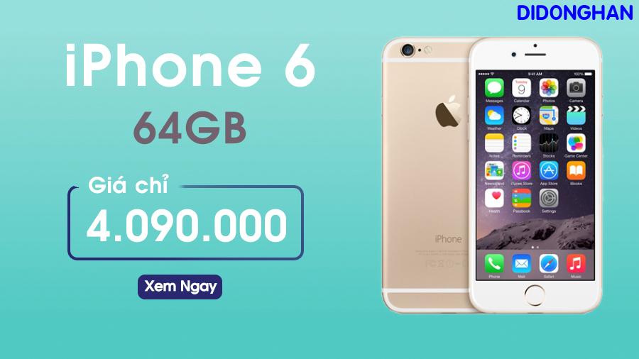 Iphone 6 Quốc Tế 64G