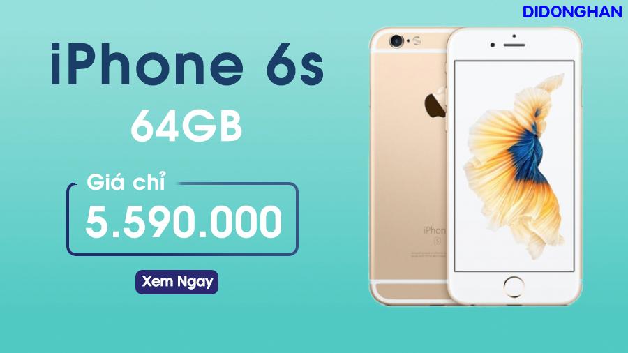iPhone 6S Quốc tế 64GB