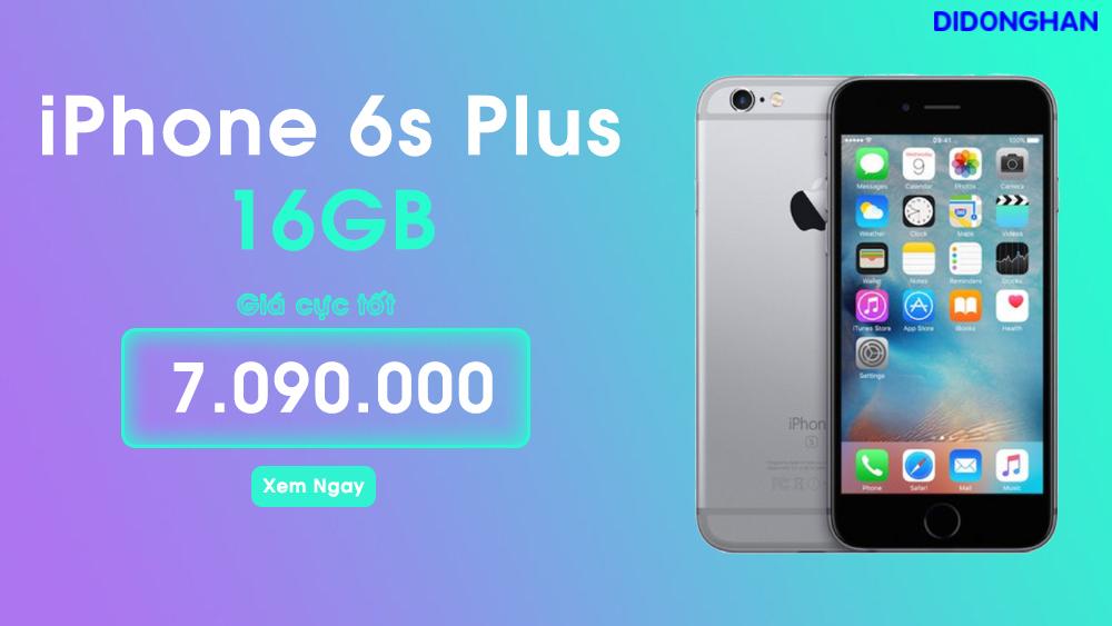 Iphone 6S plus  Quốc Tế 16G