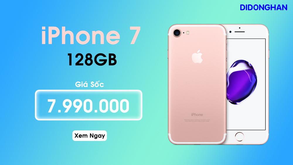 IPhone 7 Quốc Tế 128G