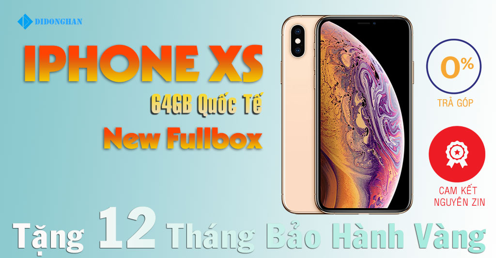iPhone XS New Fullbox 64GB