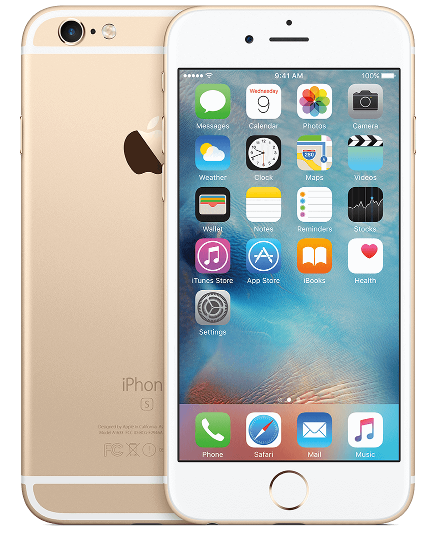 ip 6s gold