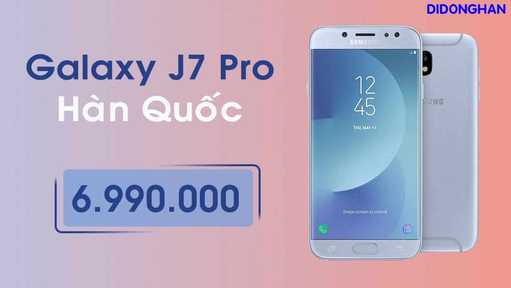 Samsung Galaxy J7 Pro Xách Tay Hàn Quốc