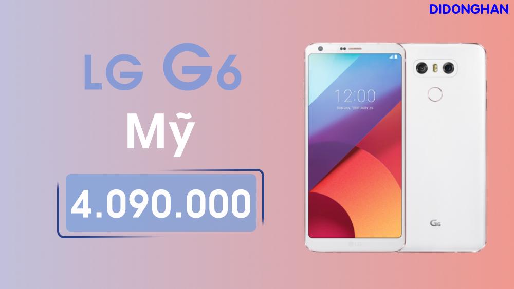 LG G6 Mỹ Like New 99%