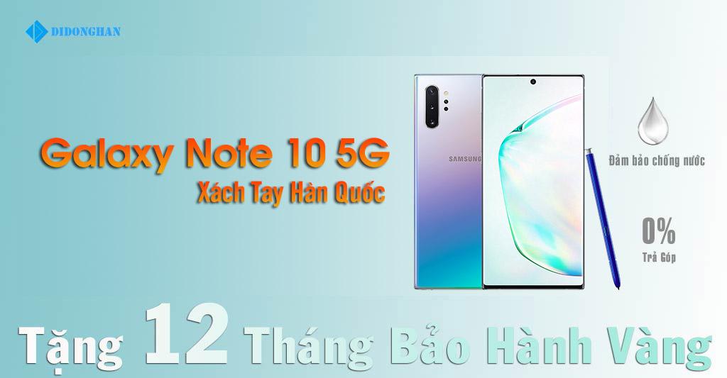 Galaxy Note 10 5G Xách Tay Hàn Quốc Cũ