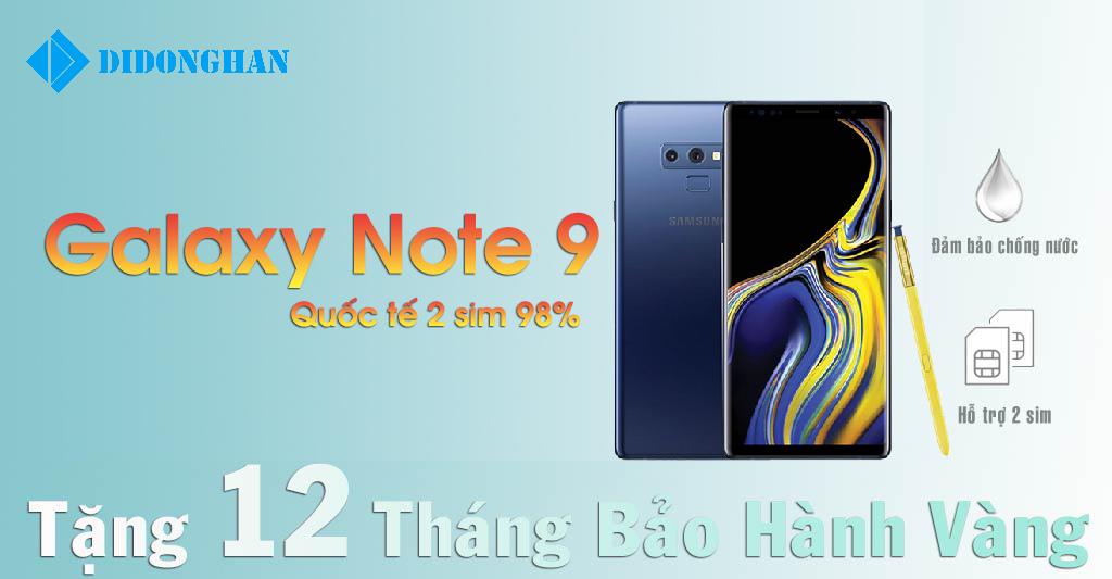 Galaxy Note 9 Quốc Tế 2 Sim Cũ 98%