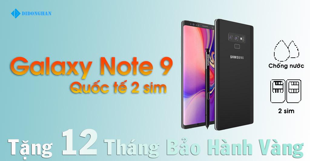 Galaxy Note 9 Quốc Tế 2 sim cũ