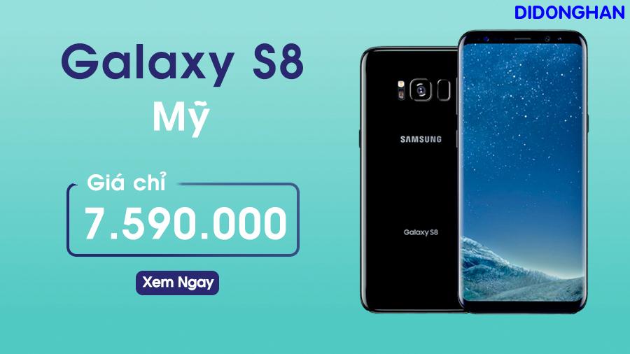 Samsung Galaxy S8 Mỹ