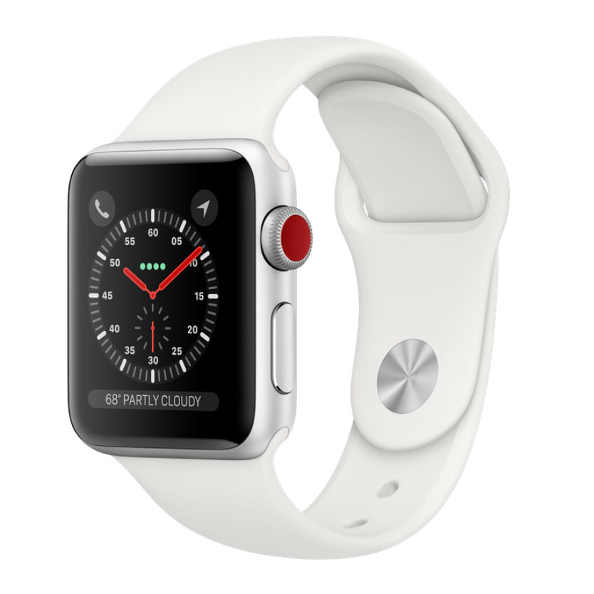 Apple Watch Series 3 38mm Thép GPS + LTE