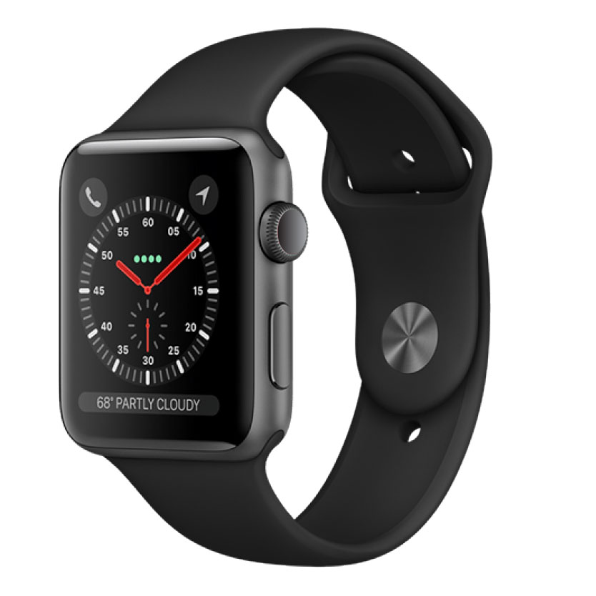 Apple Watch Series 3 38mm Thép GPS