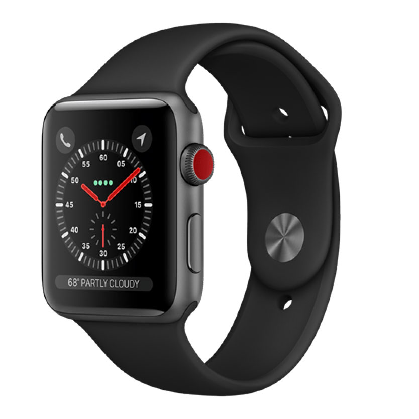 Apple Watch Series 3 42mm Nhôm GPS + LTE