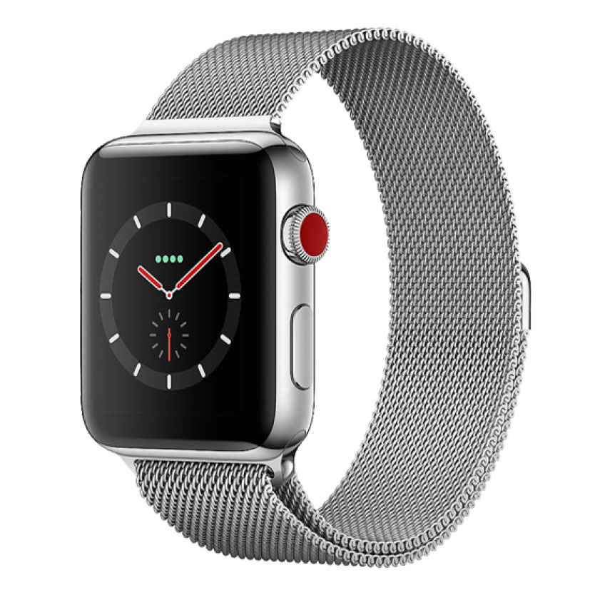 Apple Watch Series 3 42mm Thép GPS + LTE