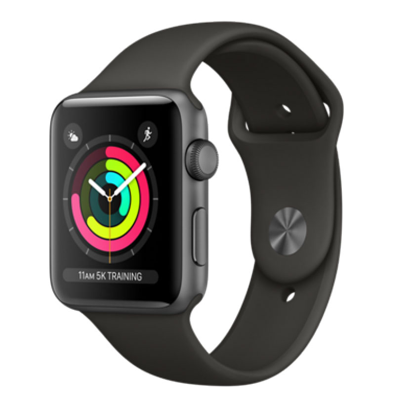 Apple Watch Series 3 42mm Thép GPS