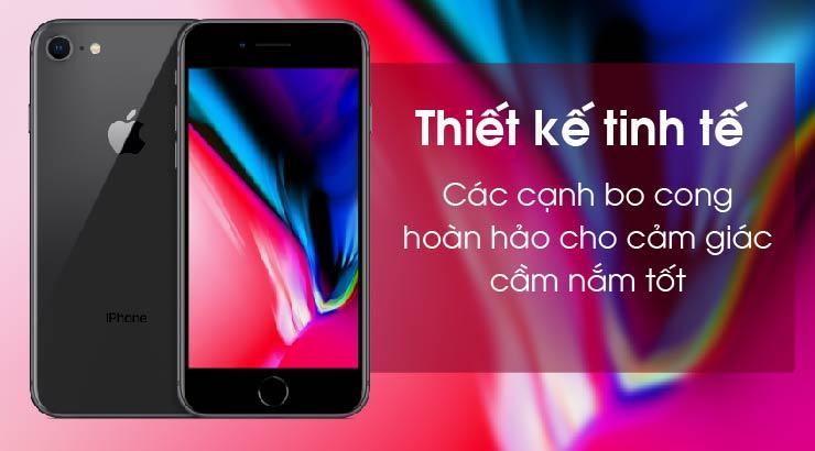 Thiết kế iPhone 8 QUốc tế